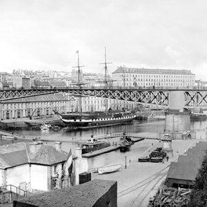 Port de Brest / 1885