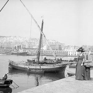 Port d'Alger / Algérie, 1900