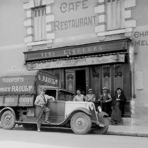 Camion de transport / Blois, Loir-et-Cher, 1930