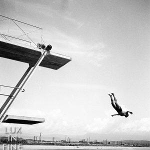 Plongeon à Antibes / 1936