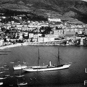 Le port de Monaco / 1900