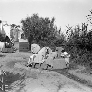 Au puits, à Tanger / Maroc, 1895