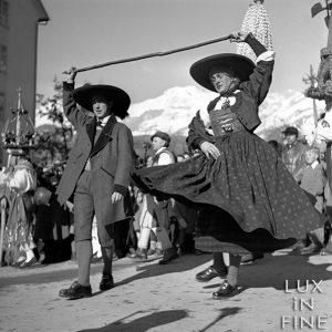 Danse tyrolienne / Innsbruck, Autriche, 1937
