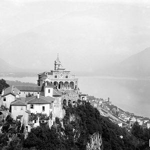 Vue sur Orselina / Lac Majeur, Suisse, 1900