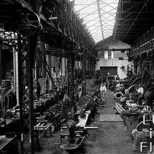 Atelier de finition / Usine de Fourchambault, Nièvre, 1895