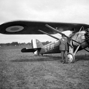 Avion Morane Saulnier / Moulins-sur-Allier, 1935
