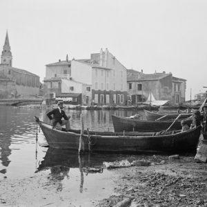 Barques de pêcheurs. Martigues 1900