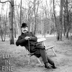 Elégant au Bois de Boulogne. 1900