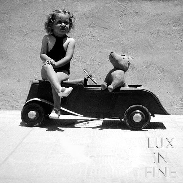 Nounours en voiture, 1960 - NE033051