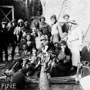 Cinéma, tournage d'un film Gaumont 1930 - NE038285