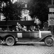 Autocar de tourisme, Gérardmer, 1925 - NE040494