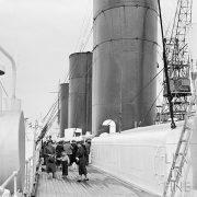Sur le pont d'un paquebot, 1920 - NE045427